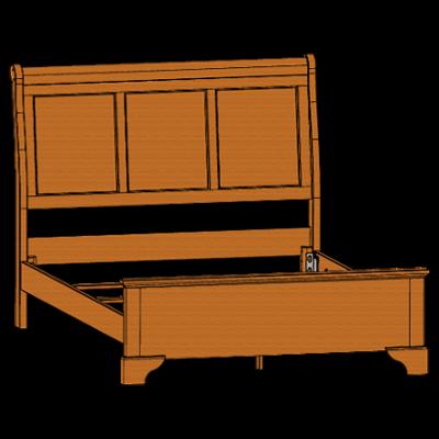 80051-chalet-queen-panel-bed