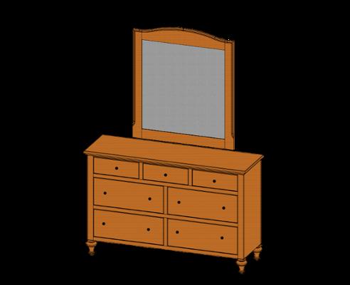 80100-dresser80105-mirror