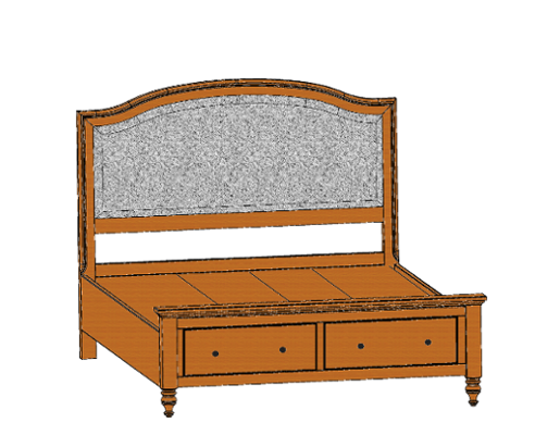 bed-with-footboard-drws
