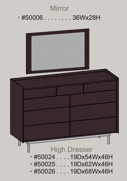 high-dresser