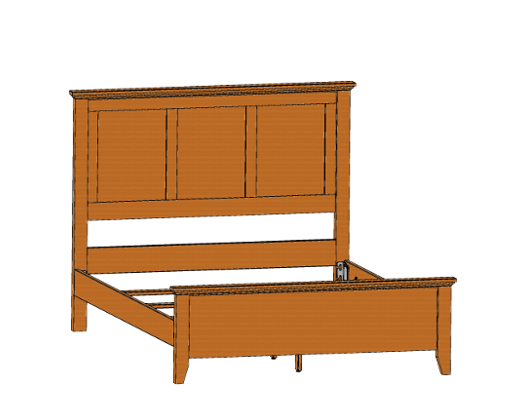 riceland-panel-bed